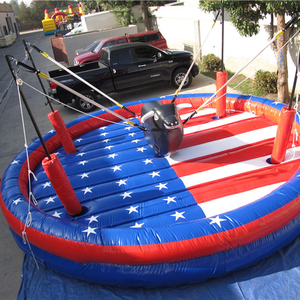 2019 new rocking games inflatable bull rodeo adults challenge inflatable rock bull