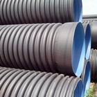 large diameter plastic 3 8 10 18 24 36 inch corrugated double wall pe drain culvert pipe weight prices