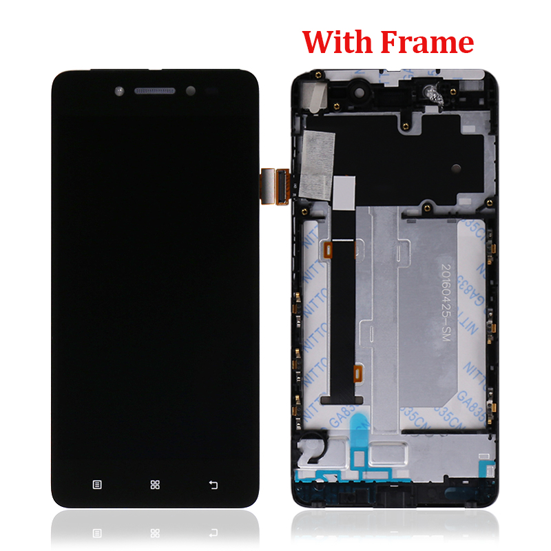 High Quality Display for Lenovo S90 Lcd Touch Screen Digitizer with Frame Assembly S90-T S90-U S90-A
