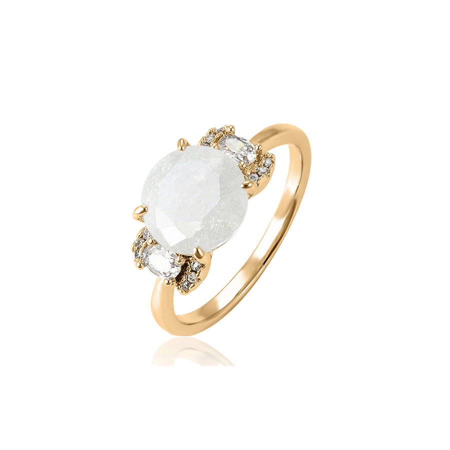 15455 xuping hot sale latest gemstone design funky finger ring for women фото
