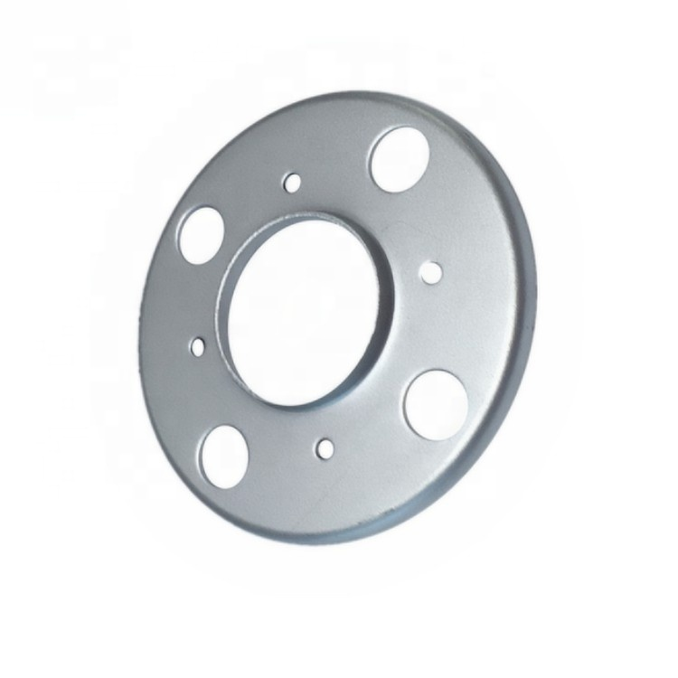 Custom Sheet Metal Fabrication OEM Hot Dip Galvanized Carbon Steel Deep Drawing Stamping Punching Automotive Car Flange