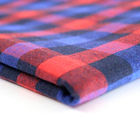 In-stock high quality tartan plaid cotton polyester tc twill fabric for dress school uniforms