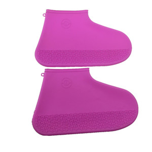 Anti slip Silicone Rubber rain boots Socks Safety Shoe Covers durable flexible silicone rain shoe cover protection