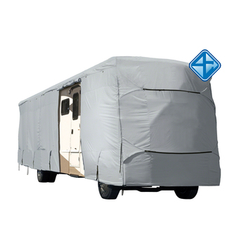 High Quality Waterproof UV resistant  RV cover with reinforced corners fabric