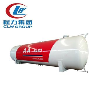120m3 60ton LPG Storage Tank for oil gas company