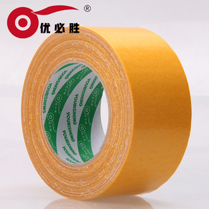 Double Sided Carpet Tape Roll 2 Inch Heavy Duty Rug Gripper Anti Slip Adhesive for Area Rugs Residue-Free
