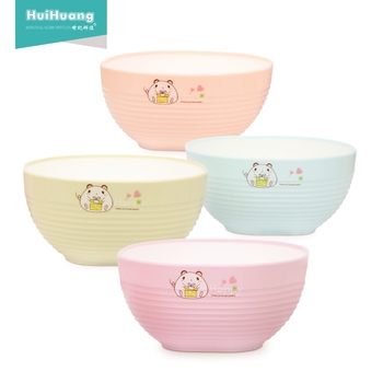 6 inch large capacity home restaurant party double color eco friendly bowl salad reusable salad bowl salad serving bowl