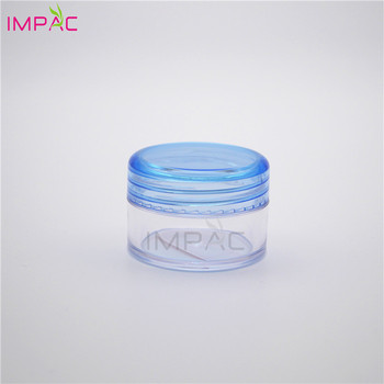 skin essence gel container transparent empty 20ml mini plastic jars