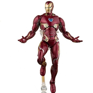 OEM Movie marvel iron hero man action figure Cartoon Toy Action Figure Model Doll Gift