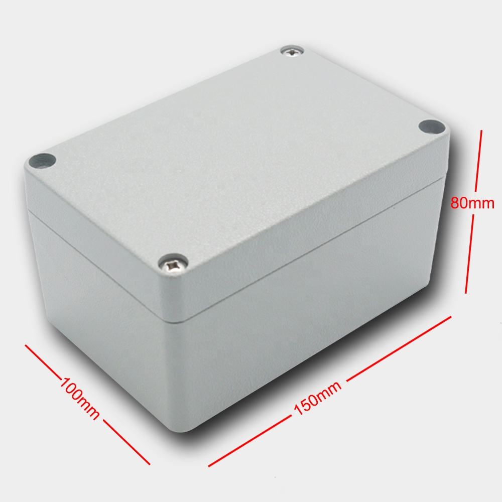 New Outdoor Junction Box IP67 Waterproof Aluminum Box China Supplier Aluminum Die Cast Junction Box