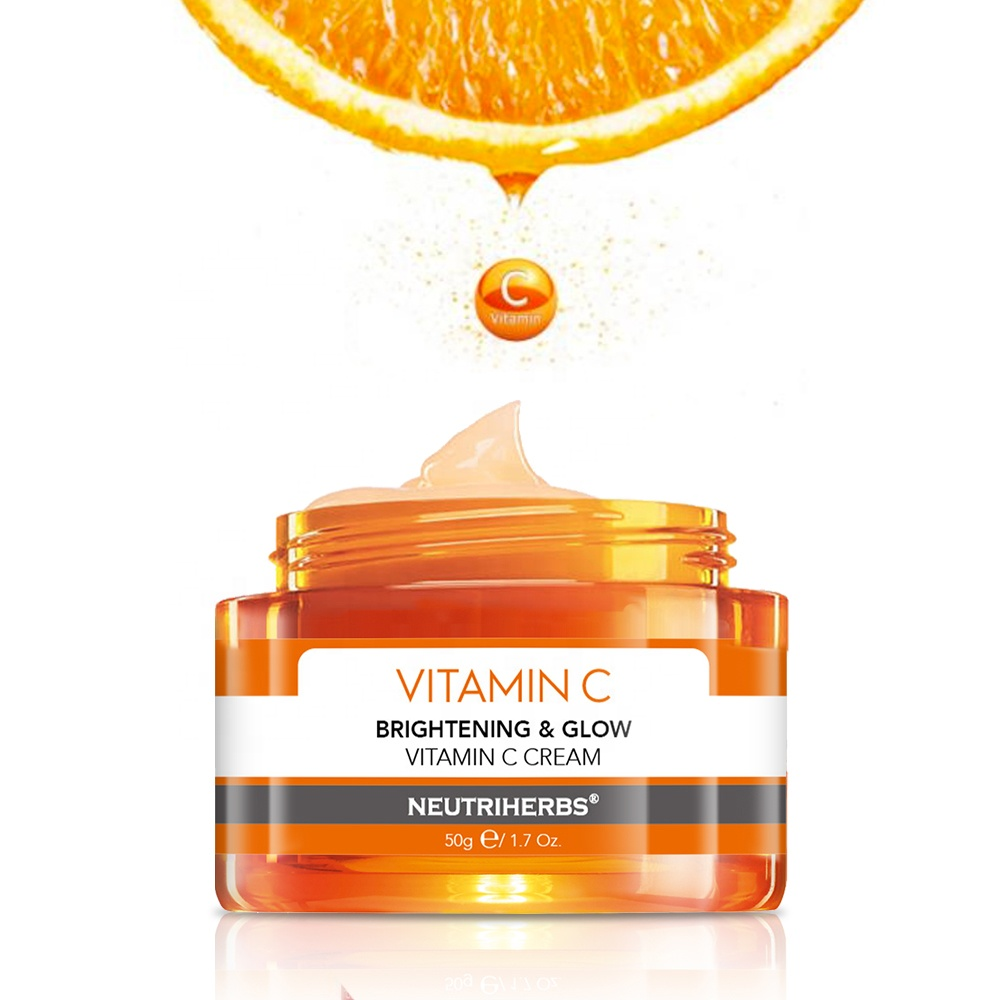Oem Odm Whitening Bleach Glowing Vitamin C Face Cream