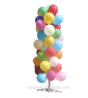 free standing promotional supply custom metal wedding balloon display rack