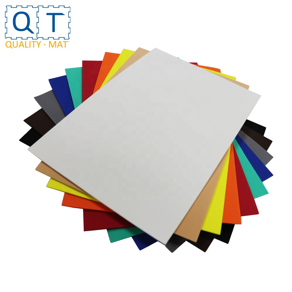 QT MAT 30cm x 20cm 10pcs/bag Multi Colors Educational DIY Craft <strong>EVA</strong> Foam Sheet