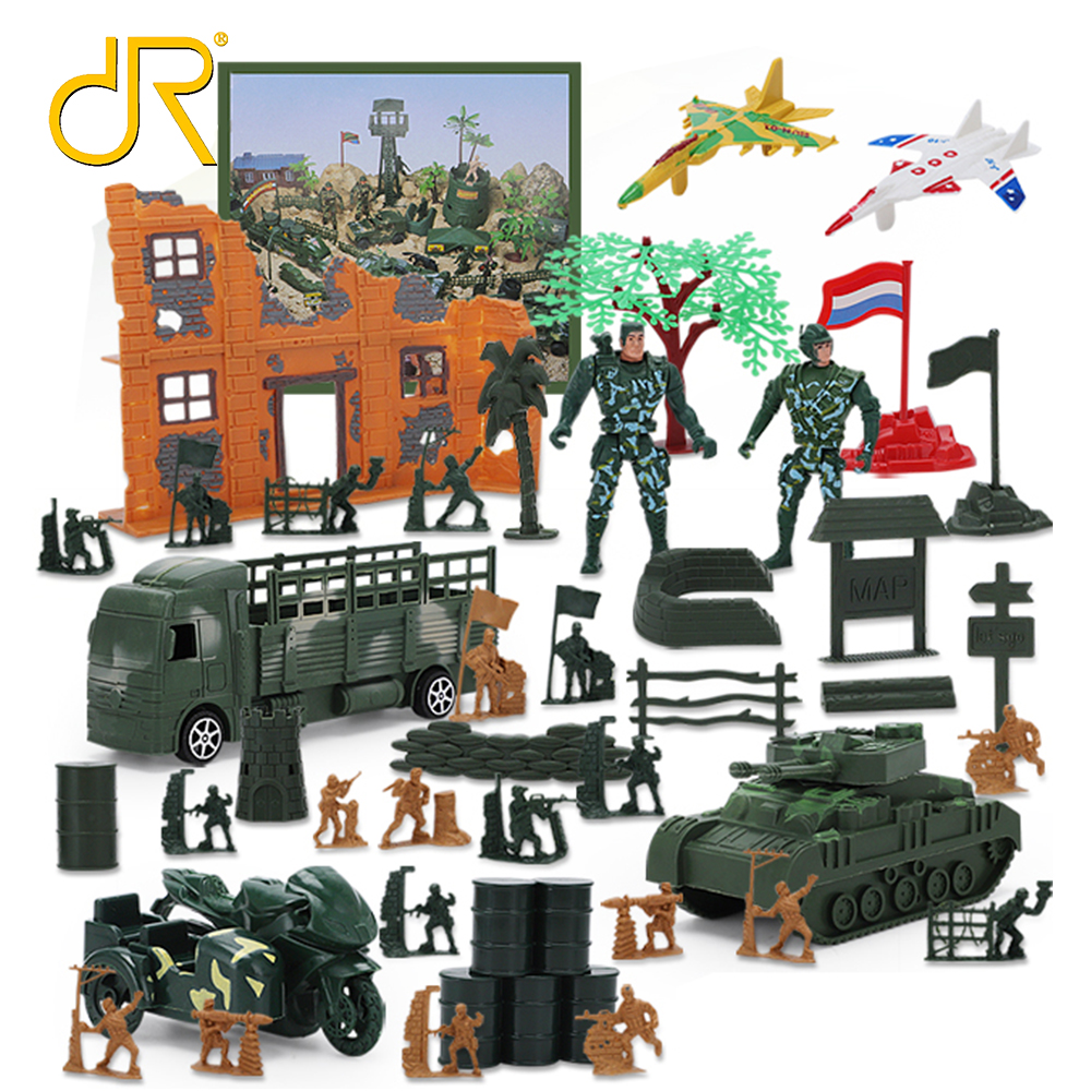 Mini world kids simulation military play set army <strong>toy</strong>
