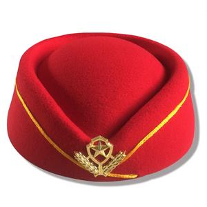 eb7c175894bdd 100% Wool Airline Uniform Caps