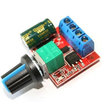 4,5-35 V 90 W Pwm Dc De Control De Velocidad Del Motor Módulo Regulador  5a,Conmutador De Función Dimmer Led Junta 20 Khz Para Arduino Uno R3 - Buy