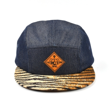 flat brim demin hats, blank denim style hats,denim strap back hats