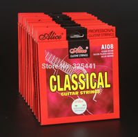 Wholesale Alice brand Classical Guitar Strings Model A108 Nylon string Silver-Plated Copper Alloy Wound