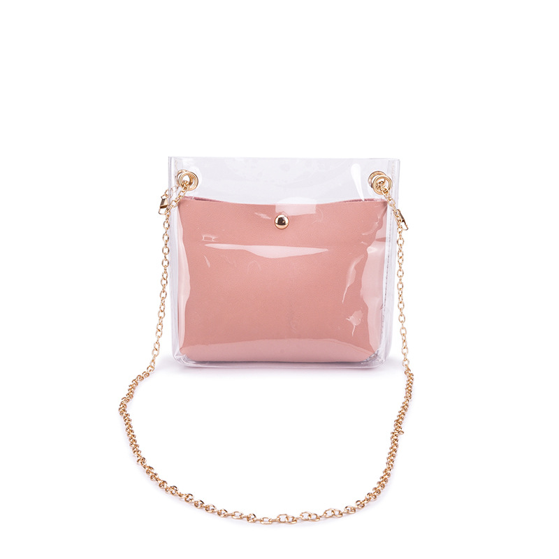 Fashion transparent crossbody bag tote bags women <strong>handbags</strong>