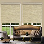 eco-friendly pure colour paper roller fabric shade blinds