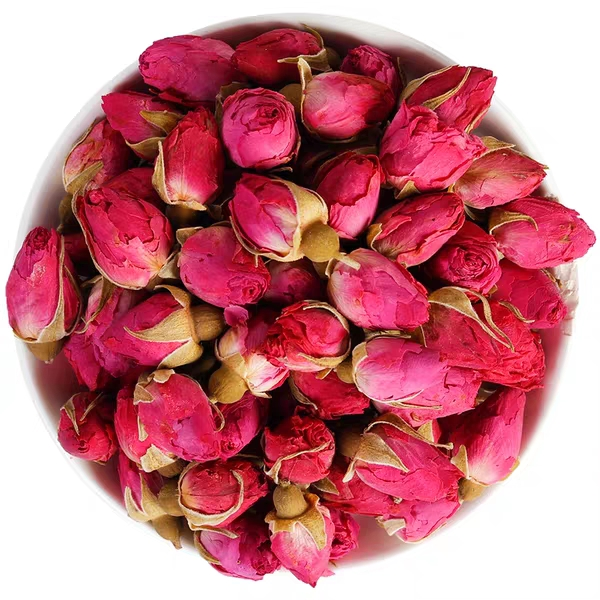 Dried Pink Rose Buds Flower tea, Lady's Herbal Tea - 4uTea | 4uTea.com
