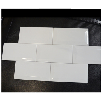 cheap 3x12 marble look antique white bullnose subway tile