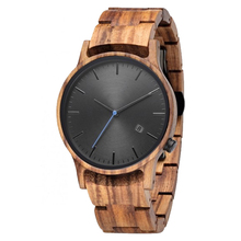 2019 Full Wood Band Belt Shenzhen Watch Wood Skeleton Watch Zebra