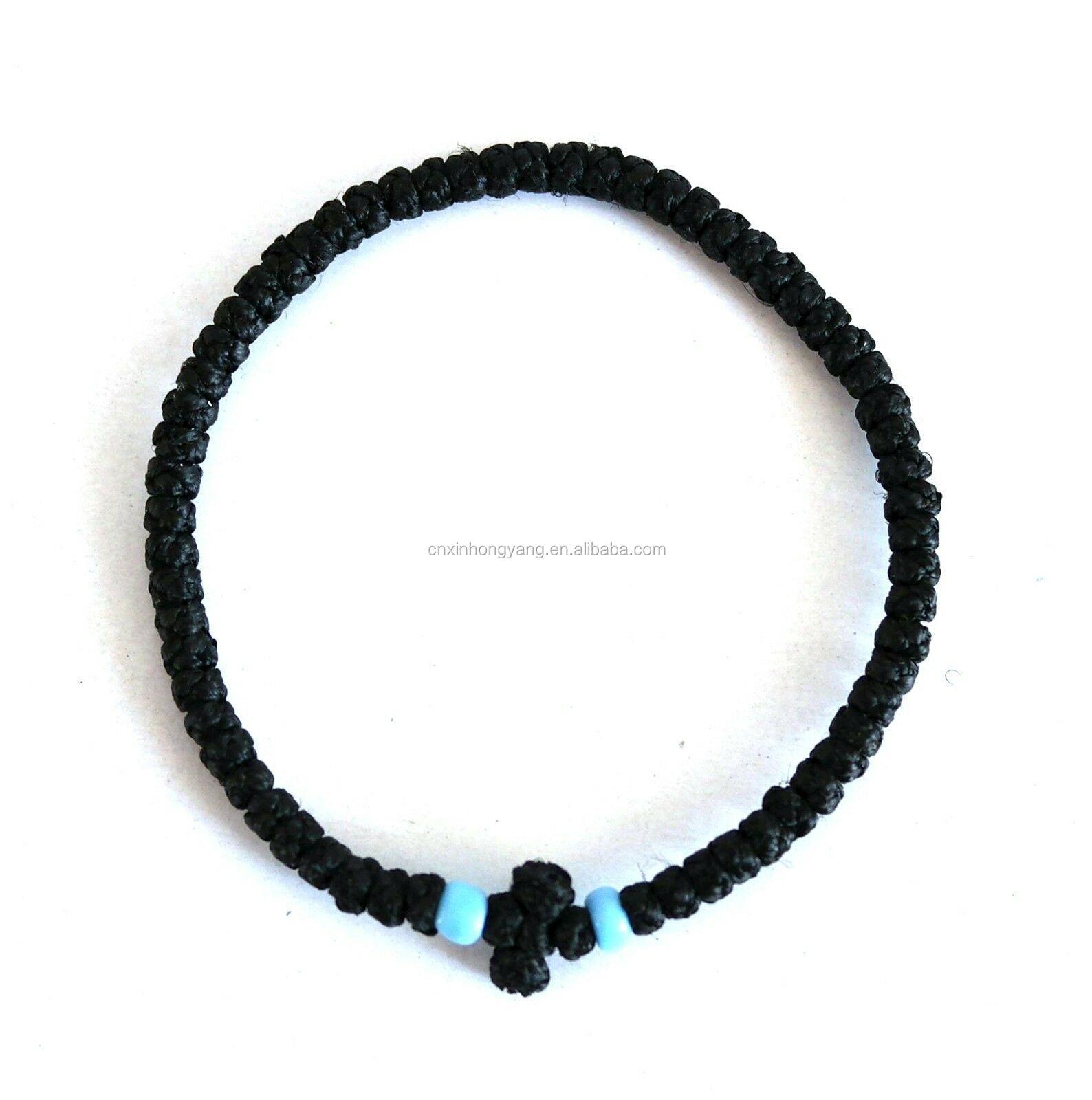 3fd43c025cbe Venta al por mayor pulseras de hilo con cruz-Compre online los ...