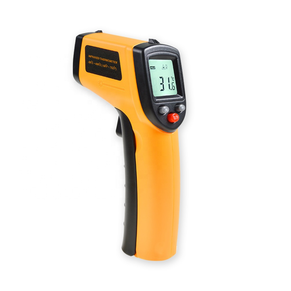 Electronic IR BBQ oven food cooking 1112 cheap high temperature non-contact gun digital infrared thermometer