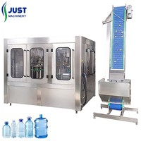 New automatic PET bottle mineral water filling plant cost