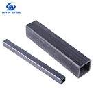 ERW Round Square Pipe Standard Sizes, Prezinc Coating, Hot DIP/ Gi /Black/Carbon/Rhs/Chs Galvanized Steel Tube