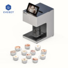 EVEBOT 2019 New Faster Speed Printing Selfie Coffee Printer for Latte Art,Chocolate,Cookies,Cake with WiFi tablet