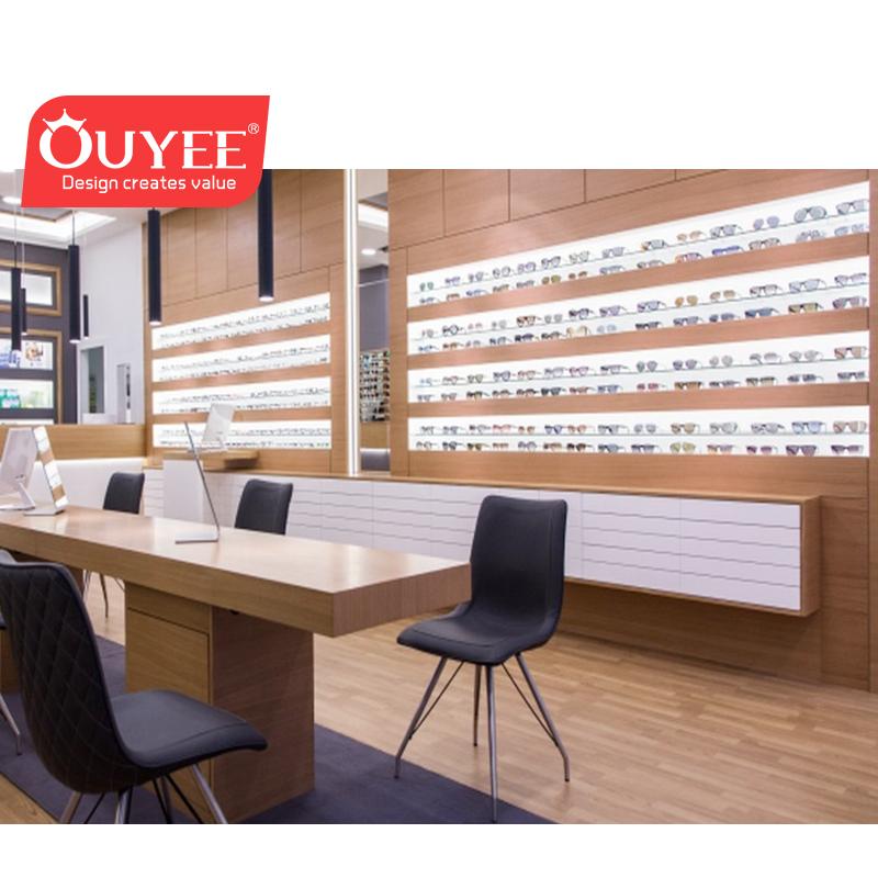 e52e31fbee2 Modern Style Wood Optical Shop Design Eyewear Retail Store Display Showcase  - Buy Wood Optica Shop Design,Eyewear Retail Store Design Furniture,Wood ...