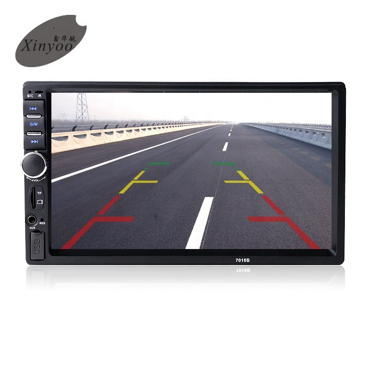XinYoo Factory Best Selling Best Quality 7'' HD Touch Screen,car dvd <strong>player</strong> Mirror link and Bulit-in Bluetooth Car MP5 <strong>Player</strong>