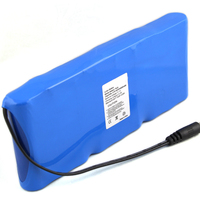 3s3p 11.1v 6600mah 18650 rechargeable li-ion Battery Pack For flaw detector