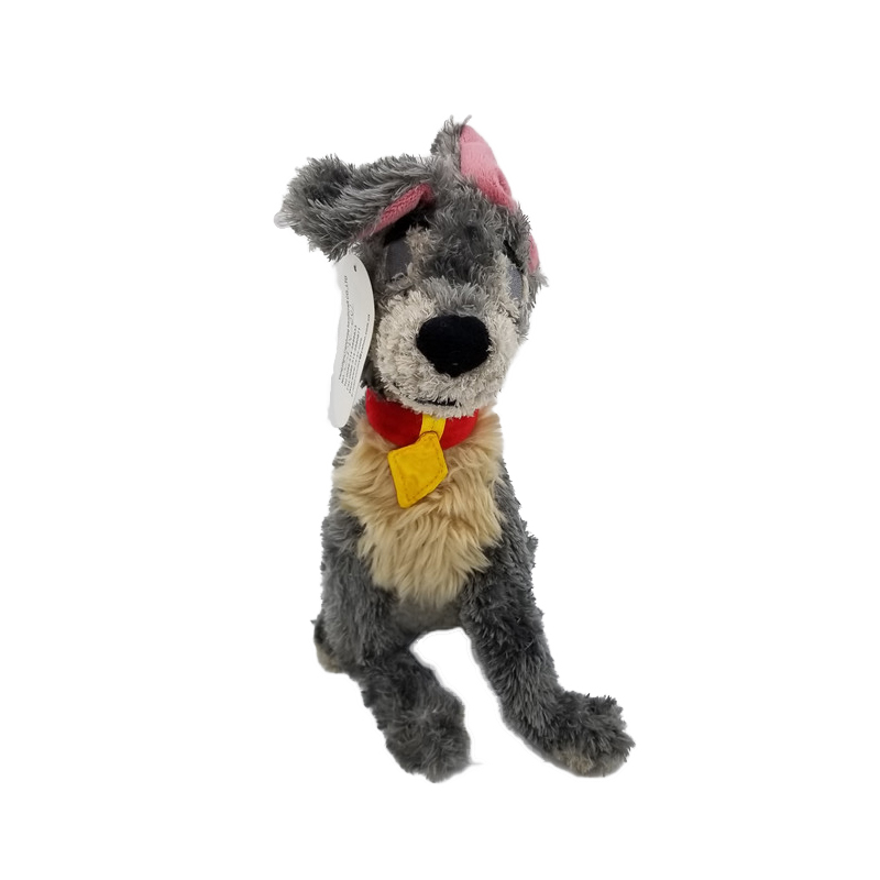 hot sale cute soft poodle stuffed animal Lady and the Tramp dog toys plush wholesale