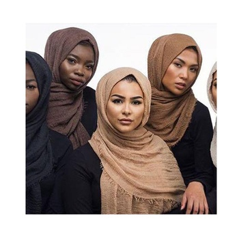 Amazon popular products muslim girls beautiful shawl hijab