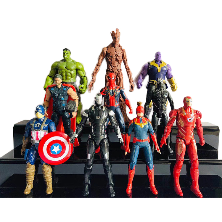 Marvel action figure supereroe action figure comic action figure 10 pz/set