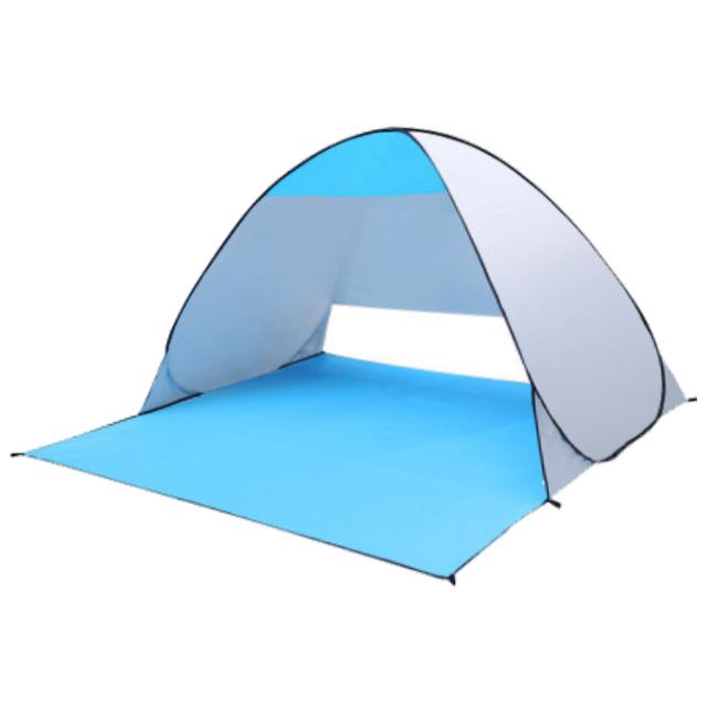Gran oferta en Amazon, tienda de campaña de playa para Picnic, protección UV, impermeable, automática, para el sol