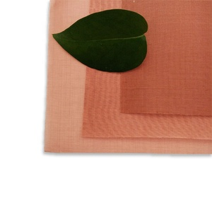 MRI room construction shielding material red copper filter cloth mesh