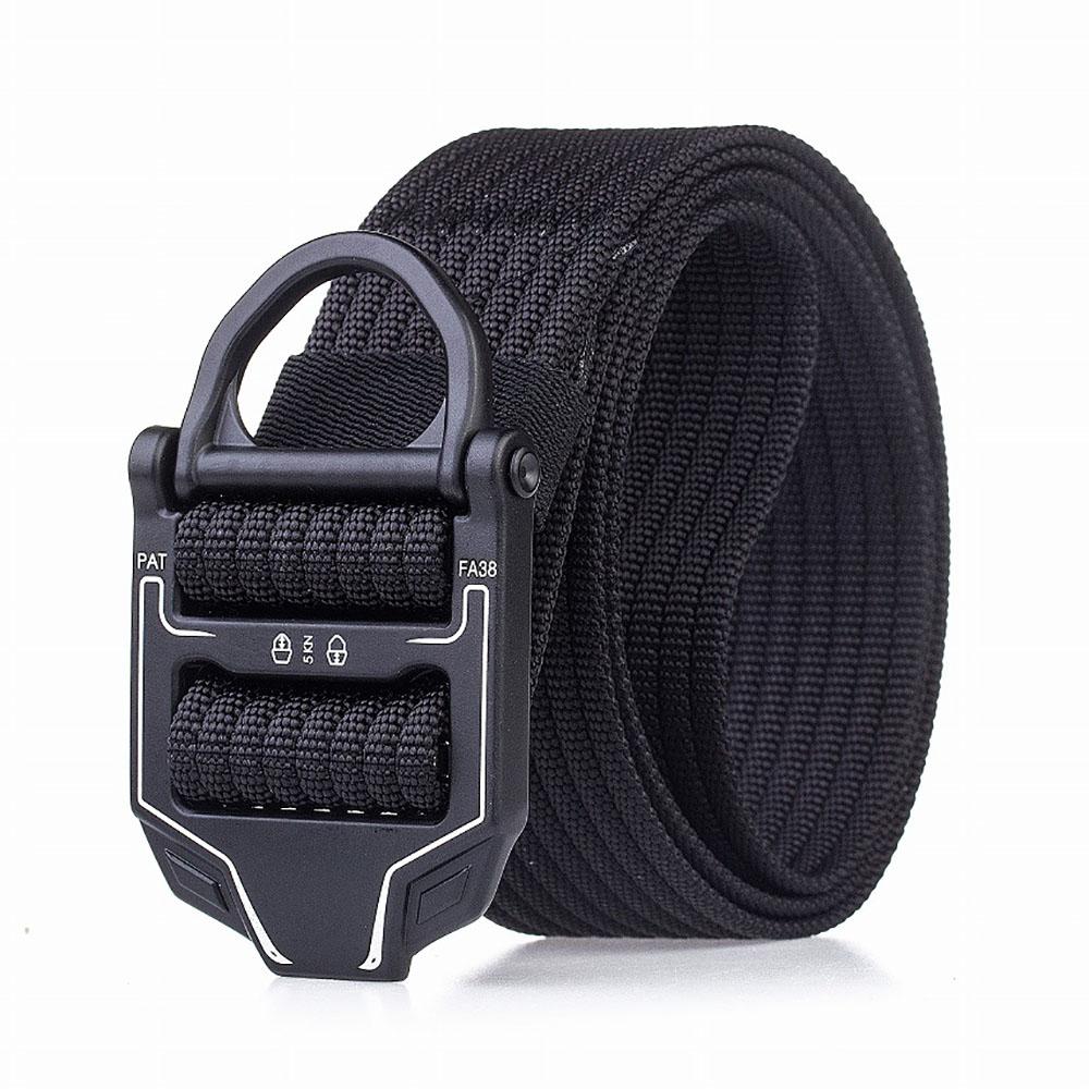 Hot Sale Swat Combat Military Equipment Tactical Belt Men 1000d Nylon Metal Buckle Knock Off Belts Us Army Soldier Carry Waist Belt Apparel Accessories
