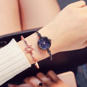 Amazon Fitness Ladies Open Typs Wrist Watch Trend All-match Bracelet Women Watches