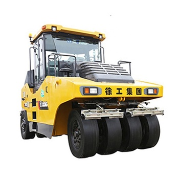 China Best XP203 20T Rubber Tyre Road Roller with Vibratory