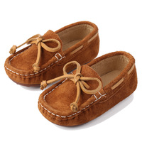 Children Casual Shoes Flat Peas Shoes Toddler Baby Moccasins boys and girls Kids Genuine Leather Shoes
