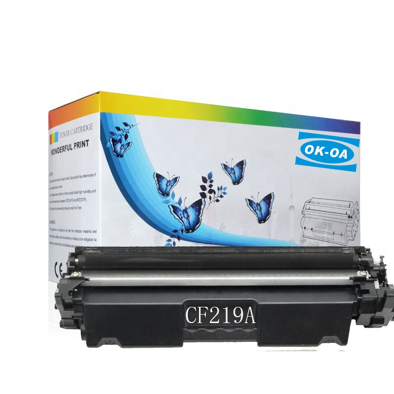 Fabriek directe verkoop toner cartridge 19a drum compatibel voor CF219A printer, LaserJet pro M 102 M130 M132 printer