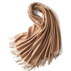 100 cashmere shawl 70*180cm solid color cashmere muffler
