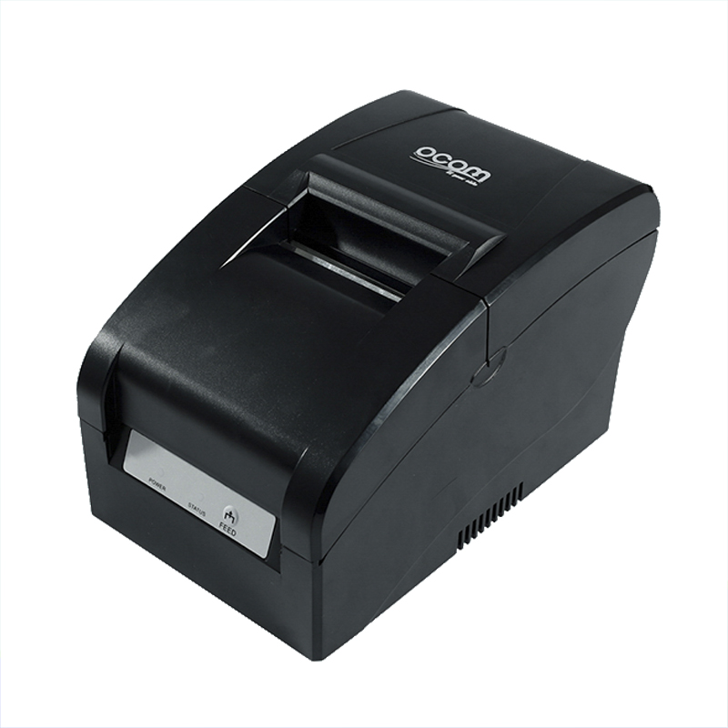 OCPP-763 76MM Width Printing Dot Matrix Impact Receipt Printer With Ribbon Auto Cutter