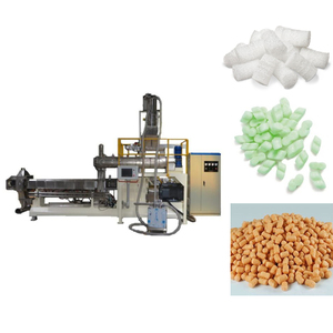 Made in China Starch based Cushioning Loose Fill Process plant/Biodegradable ECO Packaging material loose fill production line