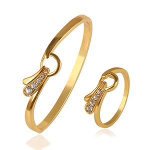 9a7291a2d16bc 64095 joyeria xuping ally express cheap wholesale ring,fashion gold ring  bangle jewelry set