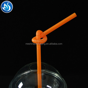 Wholesale Reusable Food Grade Transparent Clear Color PP Plastic Drinking Straw